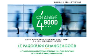 Communiqué de presse - Change4Good