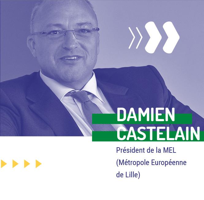 Damien Castelain - Président de la MEL - Change4Good