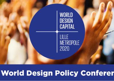 WDC 2020 : Venez découvrir le dernier jour de la World Design Policy Conference
