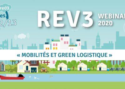 """Inscrivez-vous au webinaire de Rev3 sur le thème """"mobilités et green logistiques"""""""