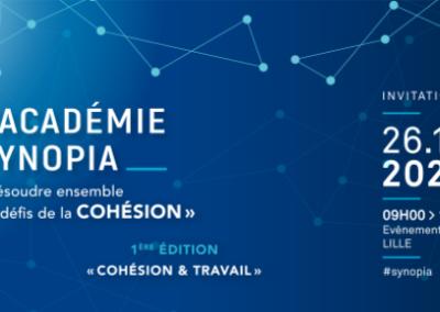 """Assistez à l'Académie Synopia : """"Résoudre ensemble les défis de la cohésion"""""""