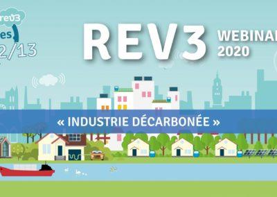 """Inscrivez-vous au webinaire de Rev3 sur le thème de """"L'industrie décarbonée"""""""
