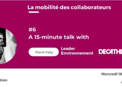 Assistez au webinaire : témoignage des forfaits mobilités durables par Decathlon