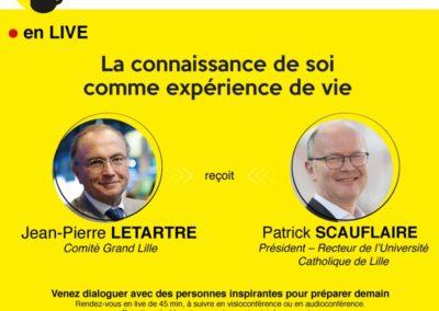 Les cafés de l'Après du Comité Grand Lille avec comme invité Patrick SCAUFLAIRE